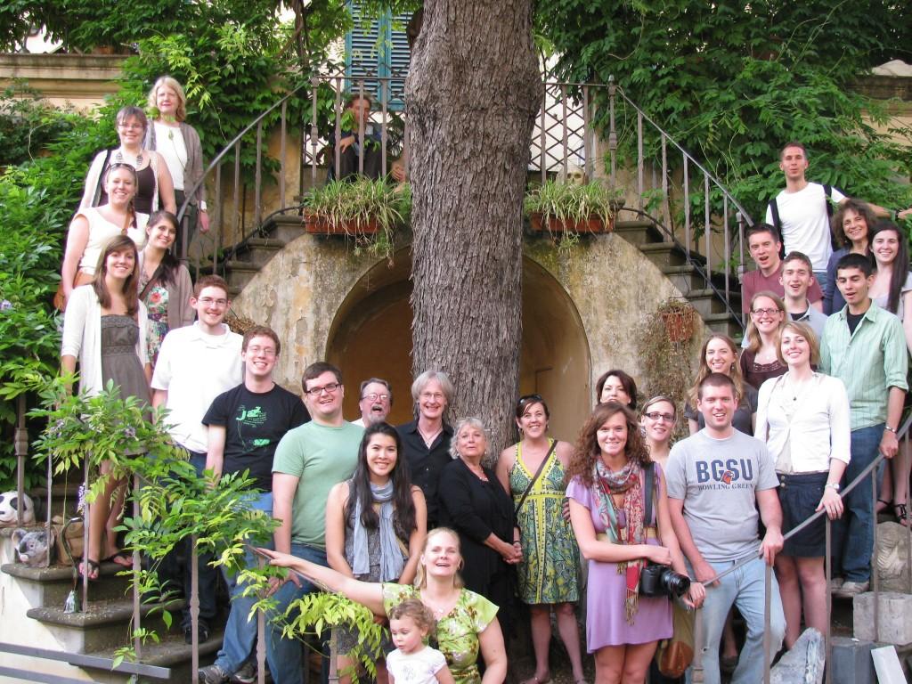 BGSU at SACI Florence, 2011