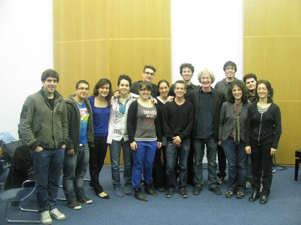 Bordeaux Conservatory Saxophone Class, April 2012