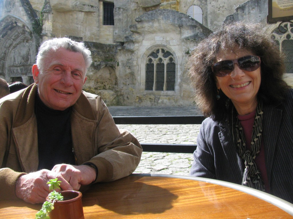 Marilyn Shrude and Jean Marie Londeix, Bordeaux, April 2012 copy
