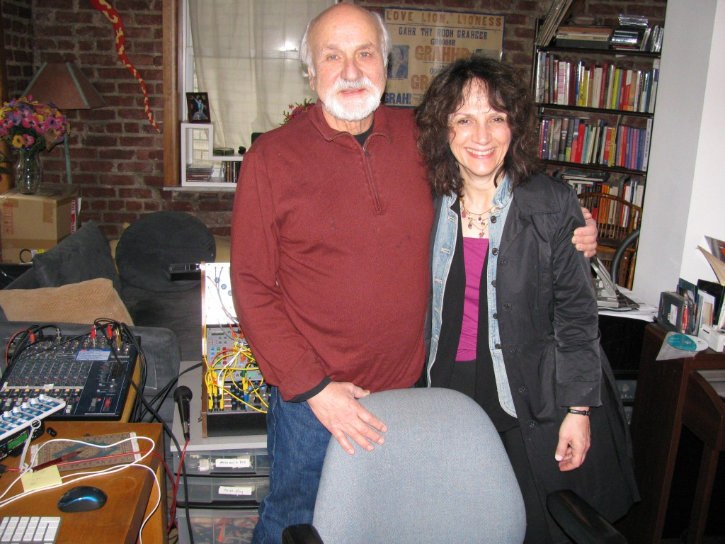 Marilyn Shrude and Morton Subotnick, 2011