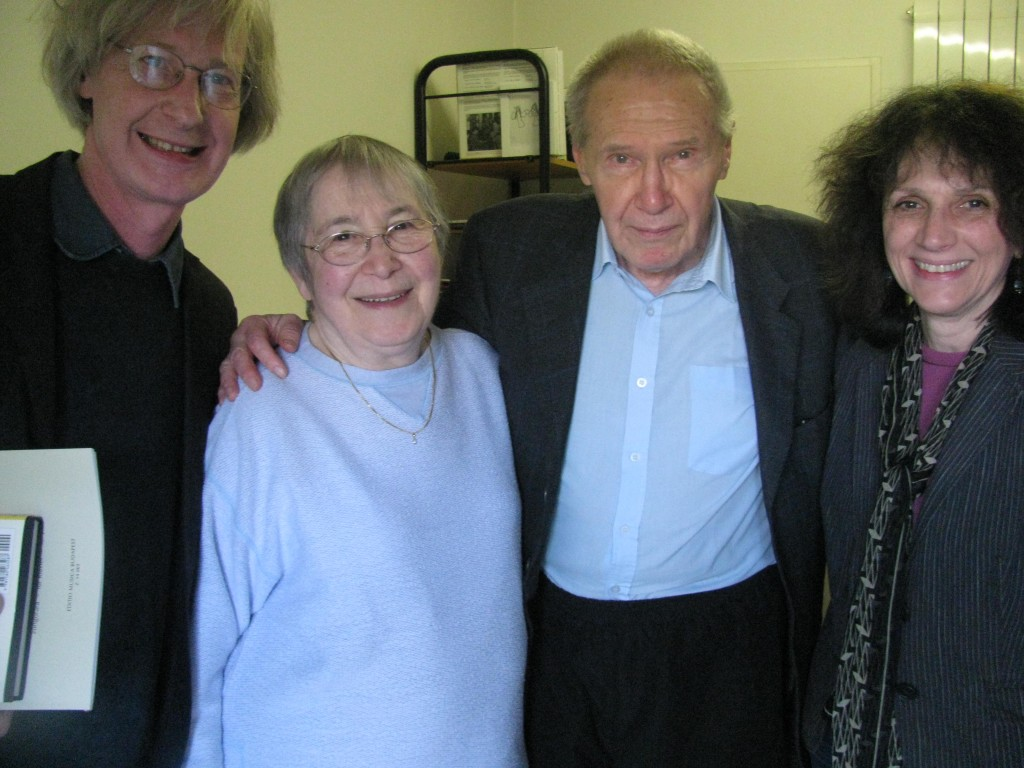 Marilyn and John with Gyorgy and Marta Kurtag, 2012