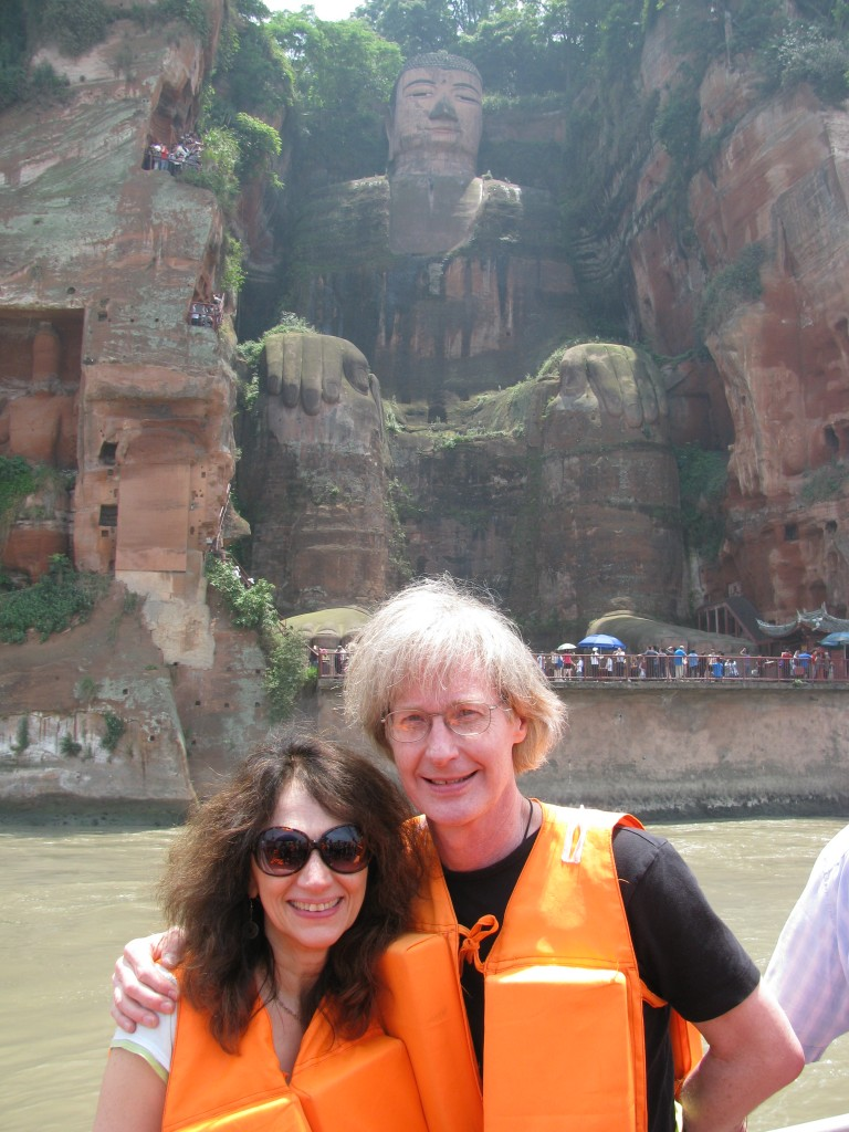 Sampen, Shrude and Big Buddha, China, 2010